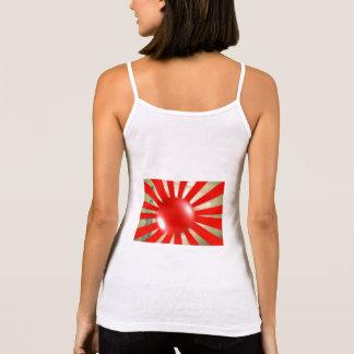 japanese flag- tank top