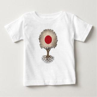 Japanese Flag Tree of Life Customizable Baby T-Shirt