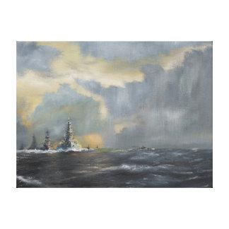 Japanese fleet in Pacific 1942 2013 Canvas Print