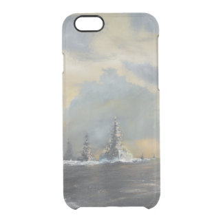 Japanese fleet in Pacific 1942 2013 Clear iPhone 6/6S Case