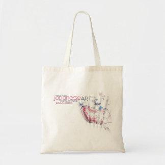 Japanese Floral Design Bag