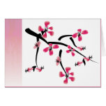 Japanese Floral Greeting Cards