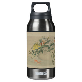 Japanese Floral Insulated Water Bottle