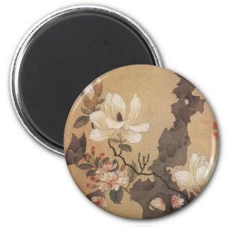 Japanese Floral Magnet