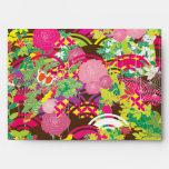 Japanese Floral Modern Design Envelopes