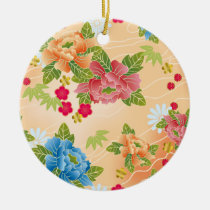 japan, japanese, blossom, floral, pink, bueatiful, cute, flower, design, traditional, vintage, spring, feminin, pattern, asia, oriental, china, chinese, beauty, beautiful, graphic, nature, feminine, art, Ornament with custom graphic design