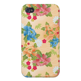 Japanese floral pink pattern iPhone 4 covers