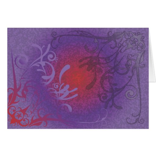 Japanese Floral Stationery Note Card