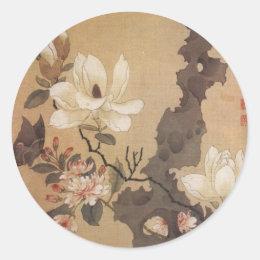 Japanese Floral Sticker