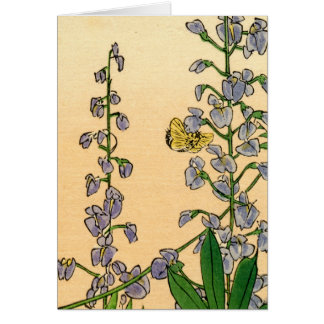 Japanese Flowers no.1 Card