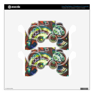 Japanese Folding Fans (New Japonism) PS3 Controller Decals