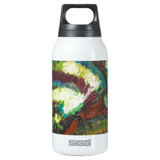 Japanese Folding Fans (New Japonism) 10 Oz Insulated SIGG Thermos Water Bottle