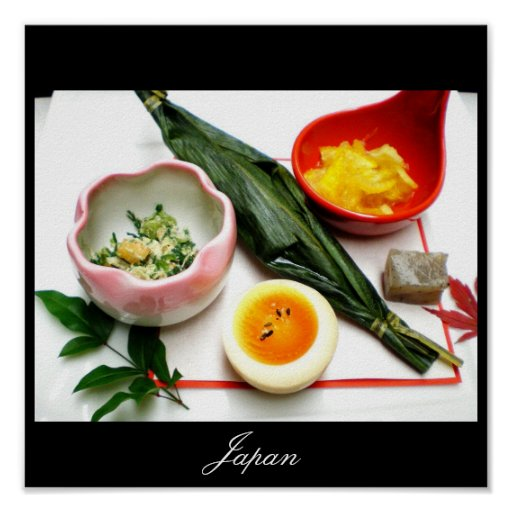 Japanese Food, Images from Japan Print