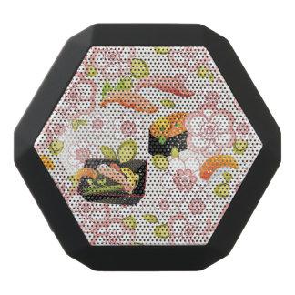 Japanese Food: Sushi Pattern 2 Black Boombot Rex Bluetooth Speaker