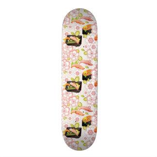 Japanese Food: Sushi Pattern 2 Skateboard