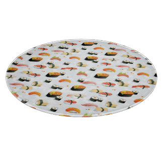 Japanese Food: Sushi Pattern Cutting Board
