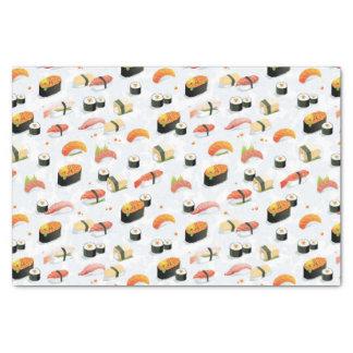 "Japanese Food: Sushi Pattern 10"" X 15"" Tissue Paper"