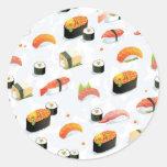 Japanese Food: Sushi Pattern Sticker