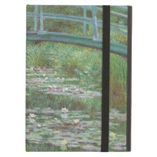 Japanese footbridge Claude Monet iPad Covers