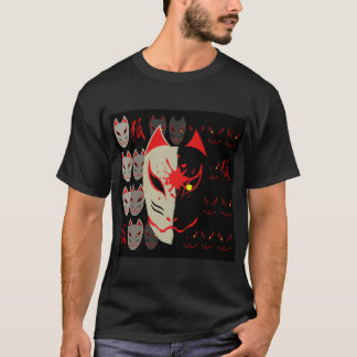 Japanese Fox Mask T-Shirt
