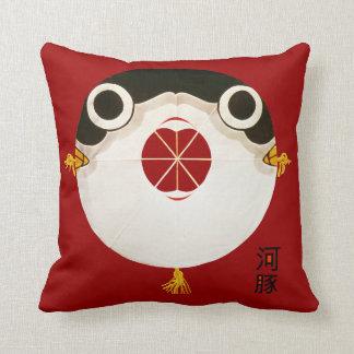 Japanese Fugu blowfish Pillows