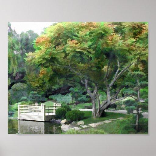 Japanese Garden 17 Poster
