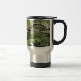 Japanese Garden 2 15 Oz Stainless Steel Travel Mug