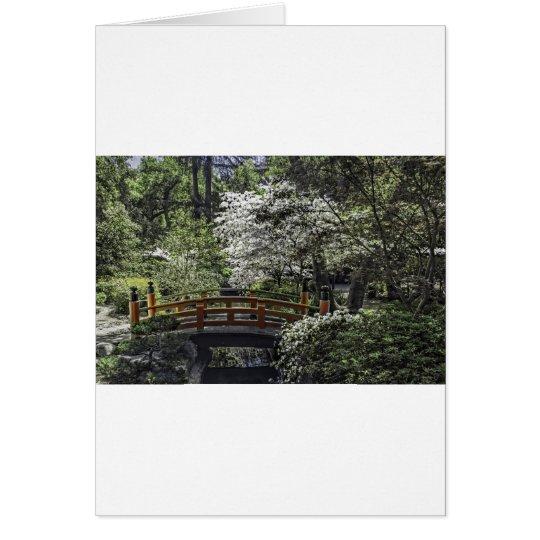 Japanese Garden 4 Card