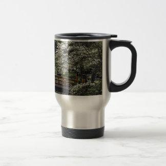 Japanese Garden 4 15 Oz Stainless Steel Travel Mug