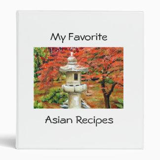 Japanese Garden, Asian Recipes, My Favorite 3 Ring Binder