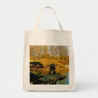 Japanese Garden Canvas Bag