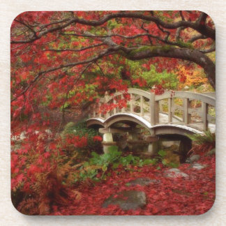 Japanese Garden Beverage Coaster