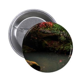 Japanese Garden Pinback Button