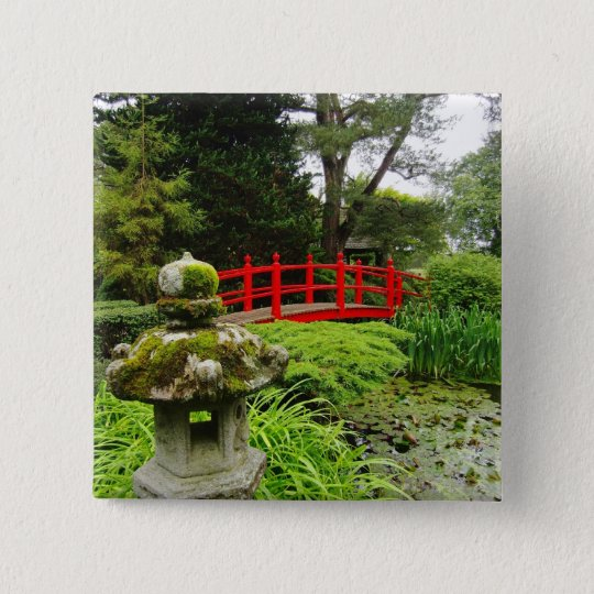 Japanese Garden Button