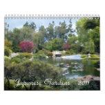 Japanese Garden Calendars