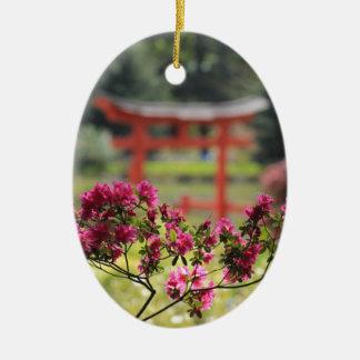Japanese garden christmas ornament for Japanese pond ornaments