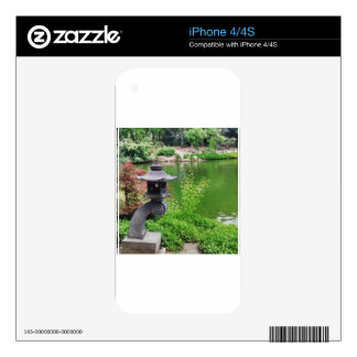 Japanese Garden Decals For iPhone 4S