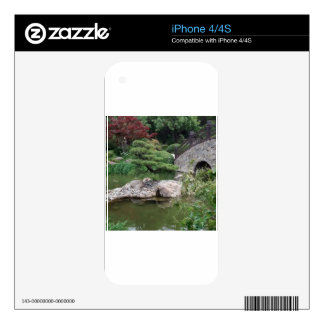 Japanese Garden Decals For The iPhone 4S
