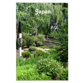 Japanese Garden Dry-Erase Board