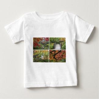Japanese Garden in Colorful Autumn Season Apparel Baby T-Shirt