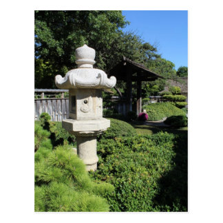 Japanese Garden in Fort Worth Texas # 141 Postcard