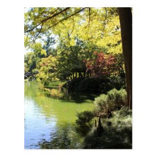Japanese Garden in Fort Worth Texas # 68 Postcard