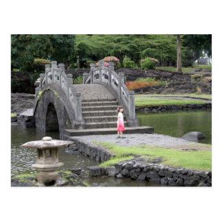 Japanese Garden in Hilo, Hawaii Postcard