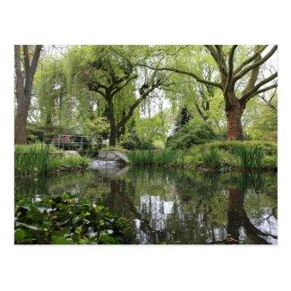 Japanese Garden in Leverkusen Postcard