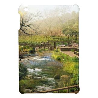 Japanese garden iPad mini case
