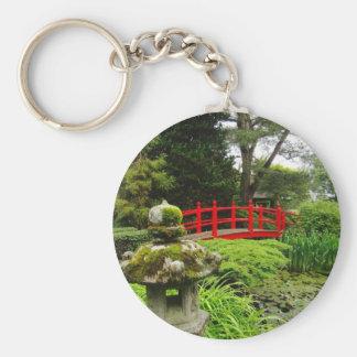 Japanese Garden Keychain