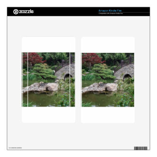 Japanese Garden Kindle Fire Decals