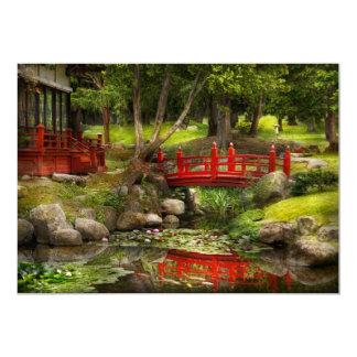 Japanese Garden - Meditation Card