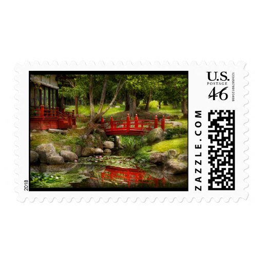 Japanese Garden - Meditation Stamps
