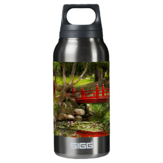 Japanese Garden - Meditation 10 Oz Insulated SIGG Thermos Water Bottle